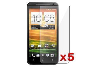 Insten 5X Clear LCD Screen Protector Accessory for New Sprint HTC EVO 4G LTE / EVO One