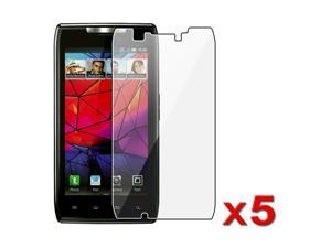 Insten Clear Anti Glare LCD Screen Protector X5 For Motorola Droid Razr Maxx XT916