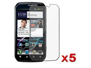 Insten For Motorola Photon 4G Electrify 5x Premium Accessory Screen Protector