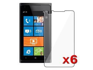 Insten 6x Clear Ultra Thin Screen Protector LCD Guard Film For Nokia Lumia 900