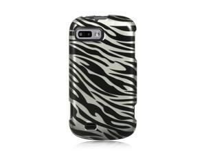 Luxmo Silver Silver Zebra Design Case & Covers ZTE Fury