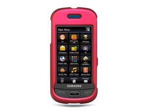 Samsung Eternity II/Samsung A597 Hot Pink Crystal Rubberized Case