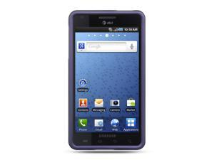 Samsung Infuse 4G I997 Purple Crystal Rubberized Case