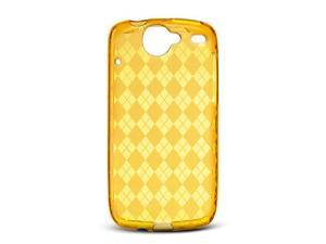 Google Nexus 1 Orange Checker Design Crystal Skin