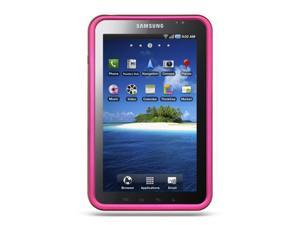 Samsung P1000 Galaxy Tab/Samsung I800 Hot Pink Crystal Rubberized Case