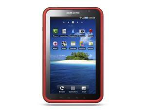 Samsung P1000 Galaxy Tab/Samsung I800 Red Crystal Rubberized Case