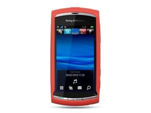 Luxmo Red Red Case & Covers Sony Ericsson Vivaz U5a