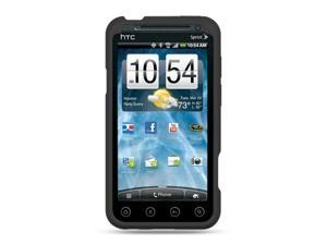 HTC EVO 3D Black Silicone Skin