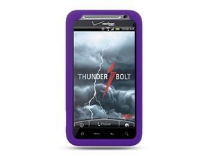 HTC Thunderbolt/HTC Incredible HD/HTC 6400 Purple Silicone Skin