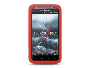 HTC Thunderbolt/HTC Incredible HD/HTC 6400 Red Silicone Skin