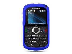 Motorola Clutch/Motorola i475 Blue Silicone Skin