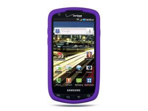 Samsung Droid Charge I510 Purple Silicone Skin