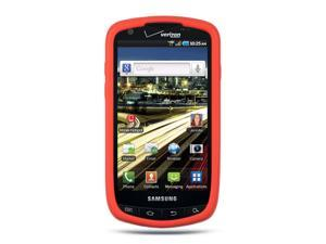 Samsung Droid Charge I510 Red Silicone Skin