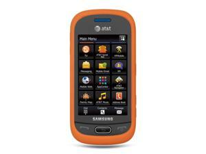 Samsung Eternity II/Samsung A597 Orange Silicone Skin