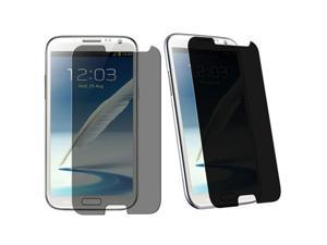 Insten Privacy Screen Protectorcompatible with Samsung  Galaxy Note II N7100, 3-Pack