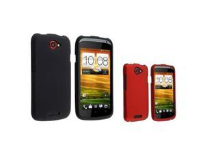 Insten Red/Black Case & Covers