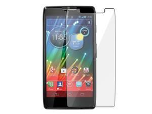 Insten Clear Reusable Screen Protector compatible with Motorola Droid Razr HD XT926 / Droid Razr Maxx HD XT926M, 5-Pack