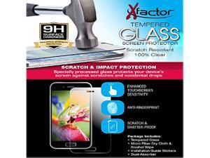 Xfactor Clear Tempered Glass Screen Protector for Moto Z TEMPXFMOTOZ