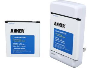 Anker 2600 mAh Batteries for Samsung Galaxy S4 S IV, I9505 + Free Anker Travel Charger 70SMGLXS4-S42P1A
