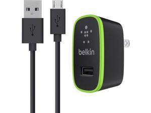 BELKIN F8M667tt04-BLK Black Home Charge Sync Cable