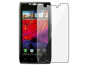 Insten 4X Anti-Glare Matte LCD Screen Protector Cover for Motorola Droid RAZR XT912