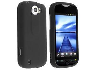 Insten Black Protector Case Cover+Car Charger+USB+LCD For HTC T-Mobile myTouch 4G Slide