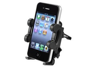 Insten Car Vent Mount Cradle + Black Charger Accessory For iPhone 5 / 5s / 5c / 4 / 4s / 3Gs 905641