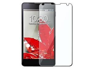 Insten 3 packs of Reusable Screen Protectors Compatible with LG Optimus G E973