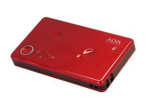 Alva Multi Juice Pack Red 2840 mAh Portable Battery Pack MJ-2800