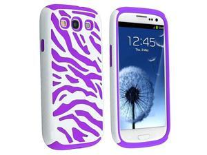 Insten Purple and White Case & Covers
