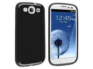 Insten 6pc TPU Rubber Skin Case Soft Gel Cover Bundle For Samsung Galaxy S3 SIII i9300