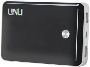 UNU Enerpak Vault Black 11000 mAh Dual Port Battery Pack PB-01-11000BS