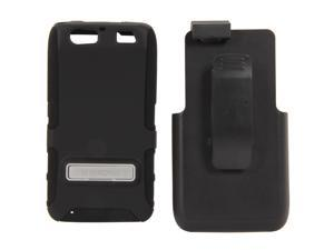 Seidio ACTIVE Combo with Metal Kickstand Black Holster For Motorola Atrix HD BD2-HK3MTAT3K-BK