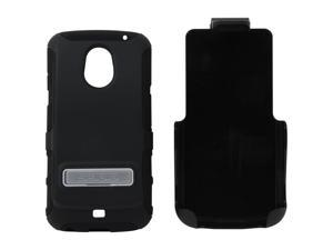 Seidio ACTIVE Extended Combo with Metal Kickstand Black Holster For Samsung Galaxy Nexus (LTE) BD2-HK3SSGNLKX2-BK