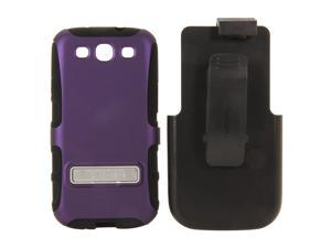 Seidio DILEX Combo with Metal Kickstand Amethyst Holster For Samsung Galaxy S III BD2-HK3SSGS3K-PR