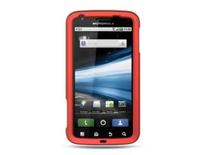 Luxmo Red Red Case & Covers Motorola Atrix MB860