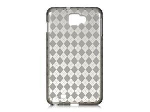 Samsung Galaxy Note I717 Smoke Checker Design Crystal Skin