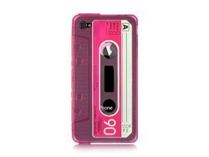 Luxmo Hot Pink Hot Pink with Hot Pink Design Case & Covers Apple iPhone 4S/iPhone 4