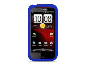 HTC Rezound/Vigor Blue Silicone Skin Case