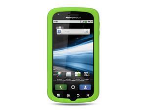 Motorola Atrix MB860 Green Silicone Skin Case