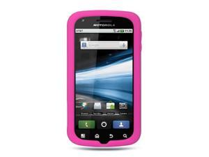 Luxmo Hot Pink Hot Pink Case & Covers Motorola Atrix MB860