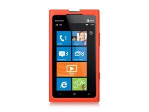 Nokia Lumia 900 Red Silicone Skin Case