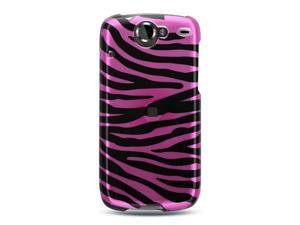 Luxmo Pink Pink Zebra Design Case & Covers Google Nexus 1