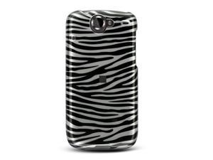 Google Nexus 1 Silver Zebra Design Crystal Case