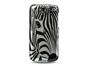 Luxmo Silver Silver Zebra Face Design Case & Covers Google Nexus 1