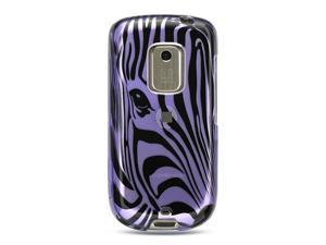 Luxmo Purple Purple Zebra Face Design Case & Covers HTC Hero