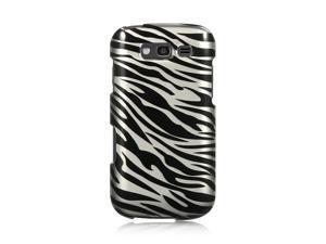 Samsung Galaxy S Blaze 4G/Samsung T769 Silver Zebra Design Crystal Case