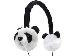 Groove Pal KDZ Kid Friendly Panda Headphones with Volume Limiting Sound by GOgroove - Works with Samsung Galaxy Tab 3 Kids Edition , iRulu Y1 Kid Pad , ProntoTec WiMo and More Kids Tablets