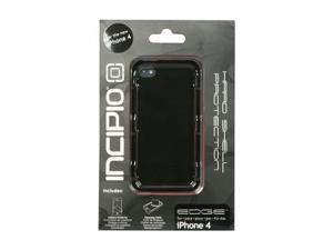 Incipio EDGE Matte Black Hard Shell Slider Case for iPhone 4/4S IPH-541