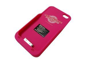 My Solar Life iSolar Plus Pink Solar Powered Charger Case For iPhone 4 / 4S msl104